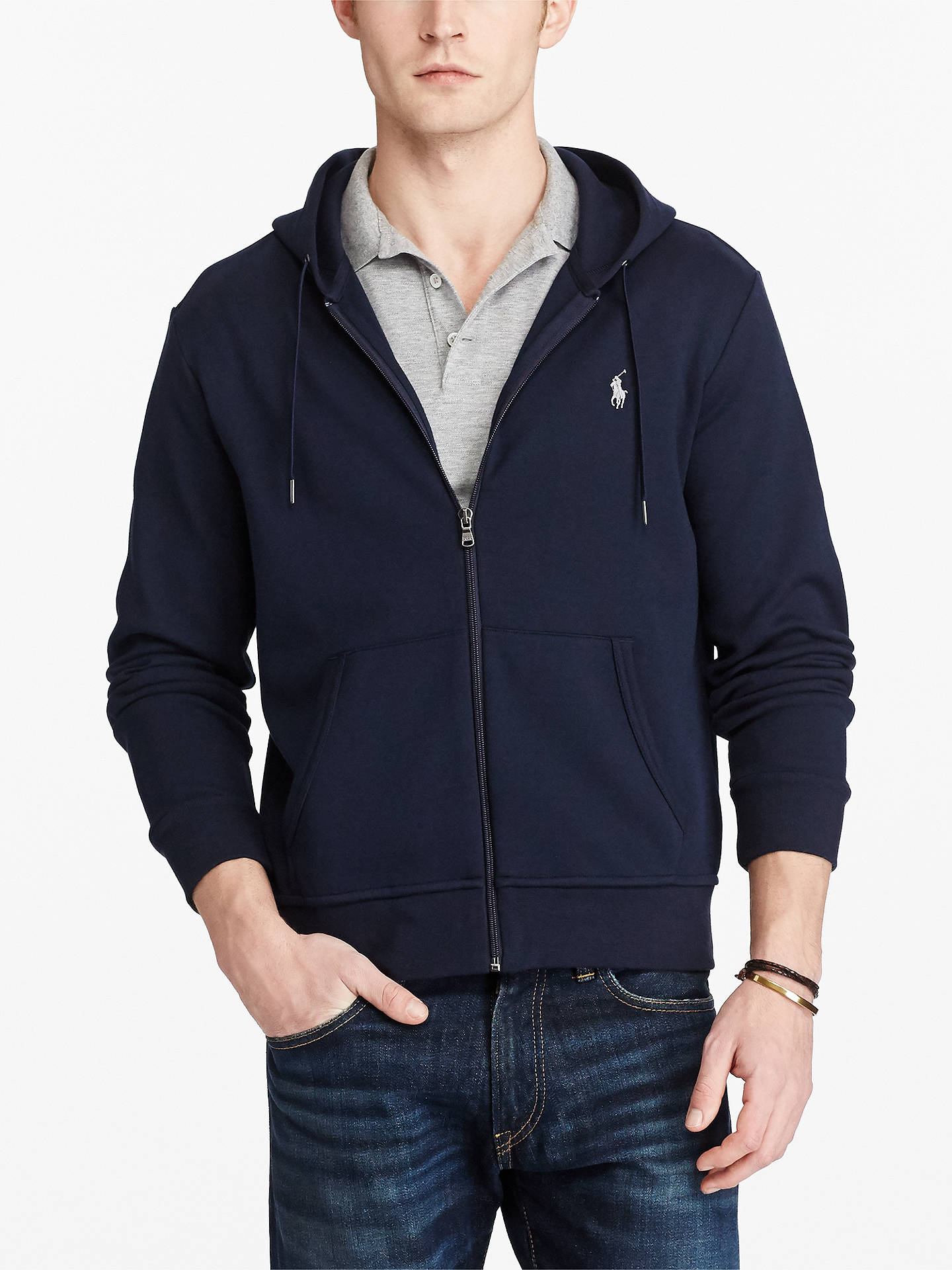 8b8ada1d96737 Buy Polo Ralph Lauren LSL-KNT Full Zip Hoodie