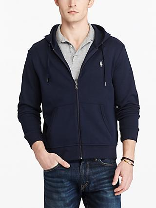Polo Ralph Lauren Full Zip Hoodie,  Aviator Navy