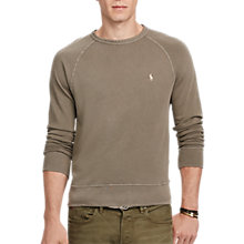 Buy Polo Ralph Lauren Classic Fit Cotton Spa Terry Sweatshirt Online at johnlewis.com