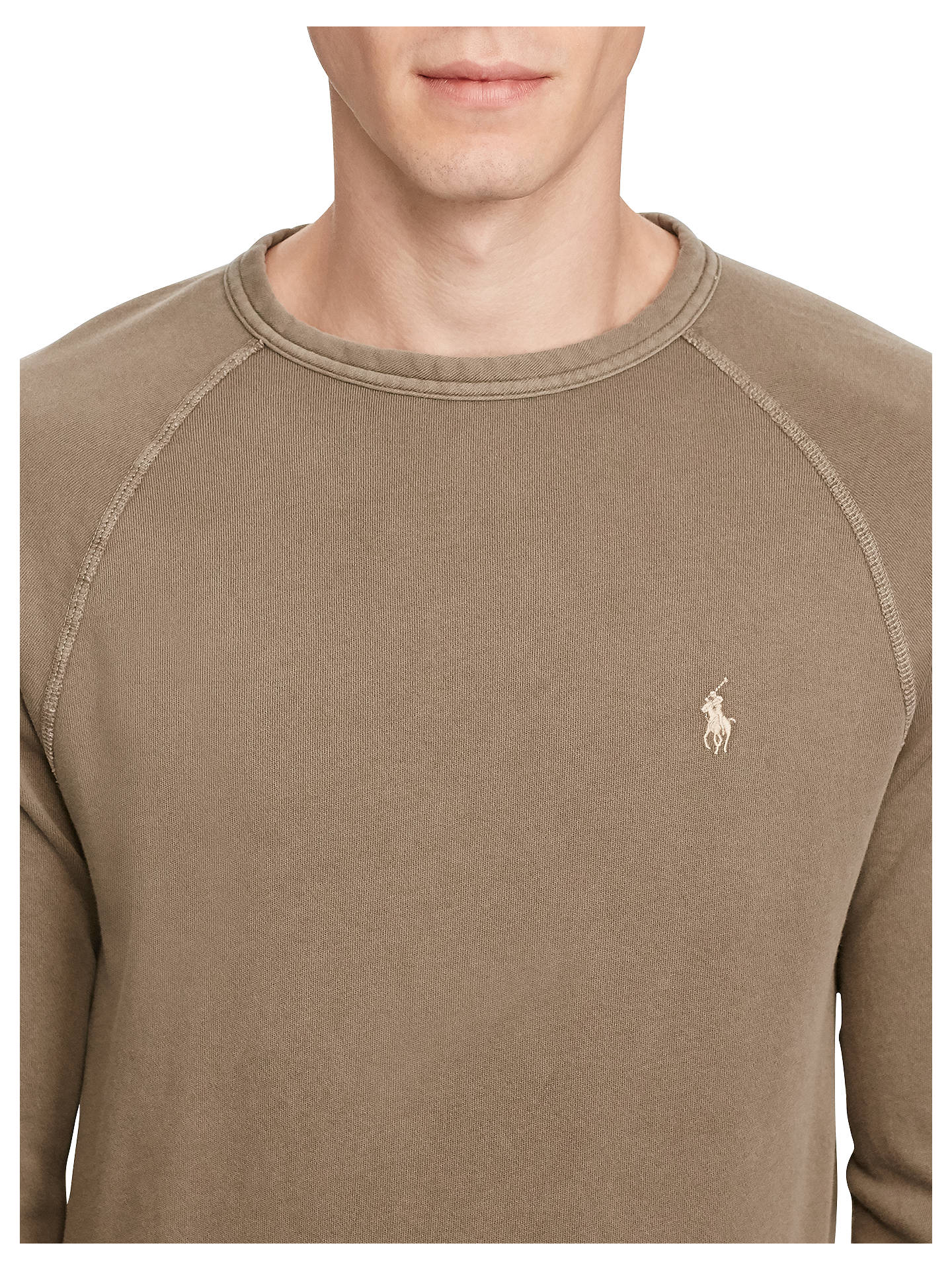 a16dd9f5 Polo Ralph Lauren Classic Fit Cotton Spa Terry Sweatshirt at ...