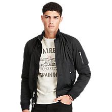 Buy Polo Ralph Lauren Lightweight Bomber Jacket, Polo Black Online at johnlewis.com