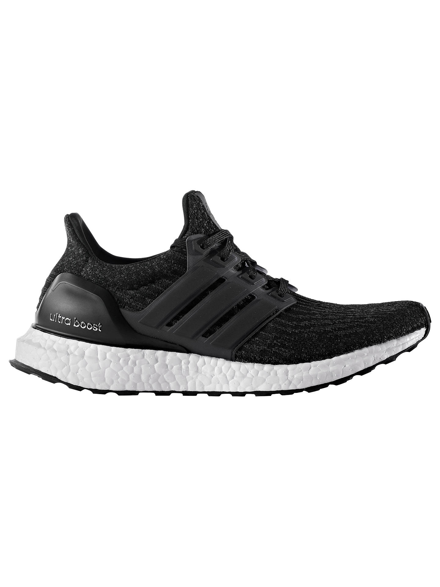 b23dfd2ef Buy adidas Ultra Boost Women's Running Shoes, Black, 4 Online at johnlewis.  ...