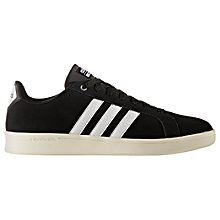 Buy Adidas Neo Cloudfoam Advantage Men's Trainer, Black Online at johnlewis.com