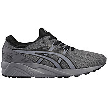 Buy Asics GEL-Kayano Evo Men's Trainers, Black/Grey Online at johnlewis.com