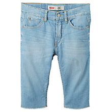 Buy Levi's Boys' Bermuda Denim Shorts, Blue Online at johnlewis.com