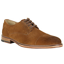 Buy John Lewis New Surrey Toe Cap Derby Shoes, Cognac Online at johnlewis.com