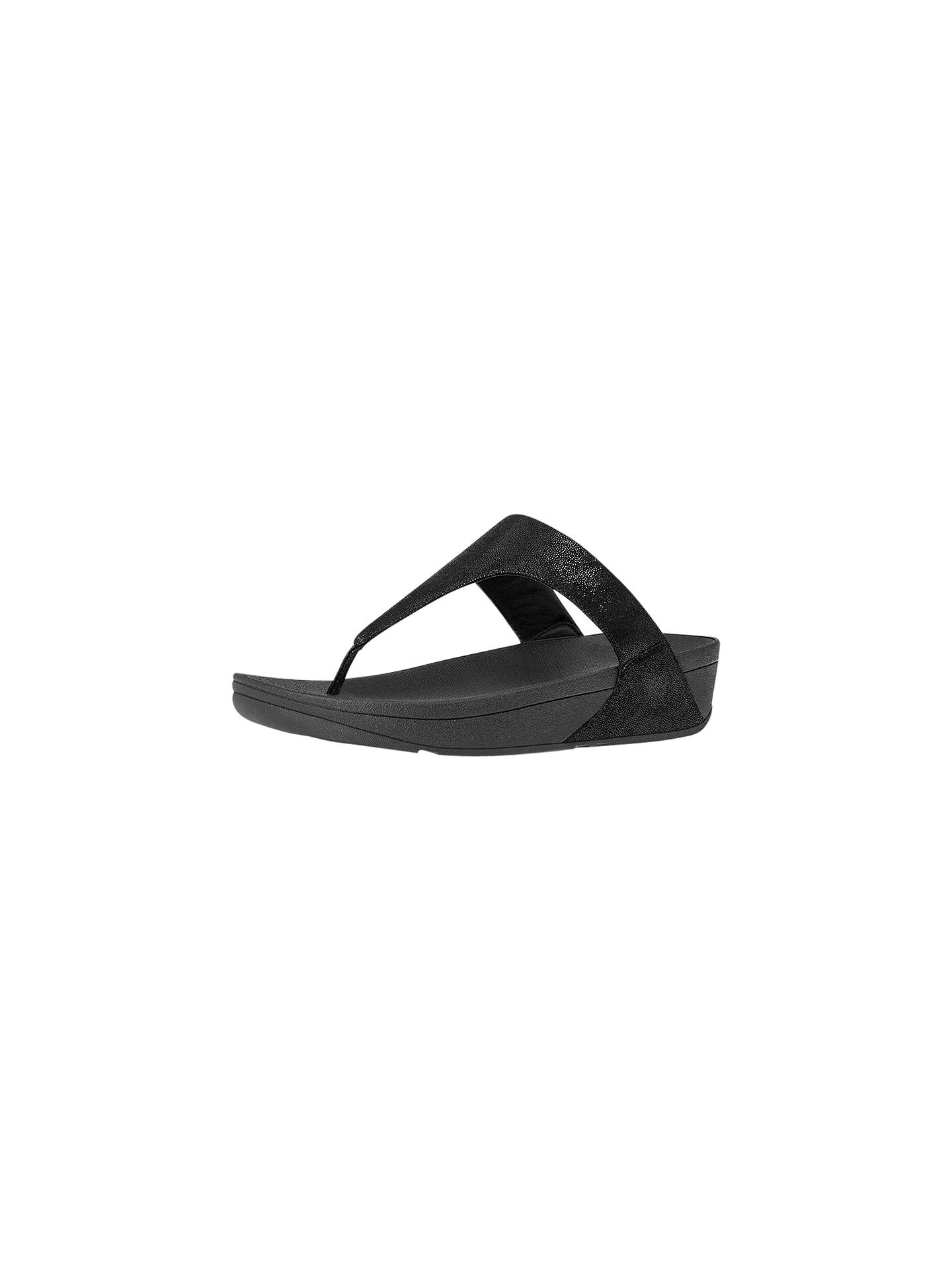 16241aee7077c FitFlop Shimmy Suede Toe Thong Sandals at John Lewis   Partners