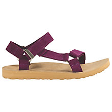 Buy Teva Original Universal Suede Women's Sandals, Purple Online at johnlewis.com