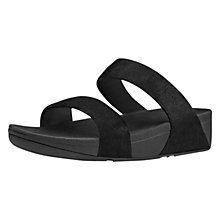 Buy FitFlop Shimmy Suede Slide Sandals Online at johnlewis.com