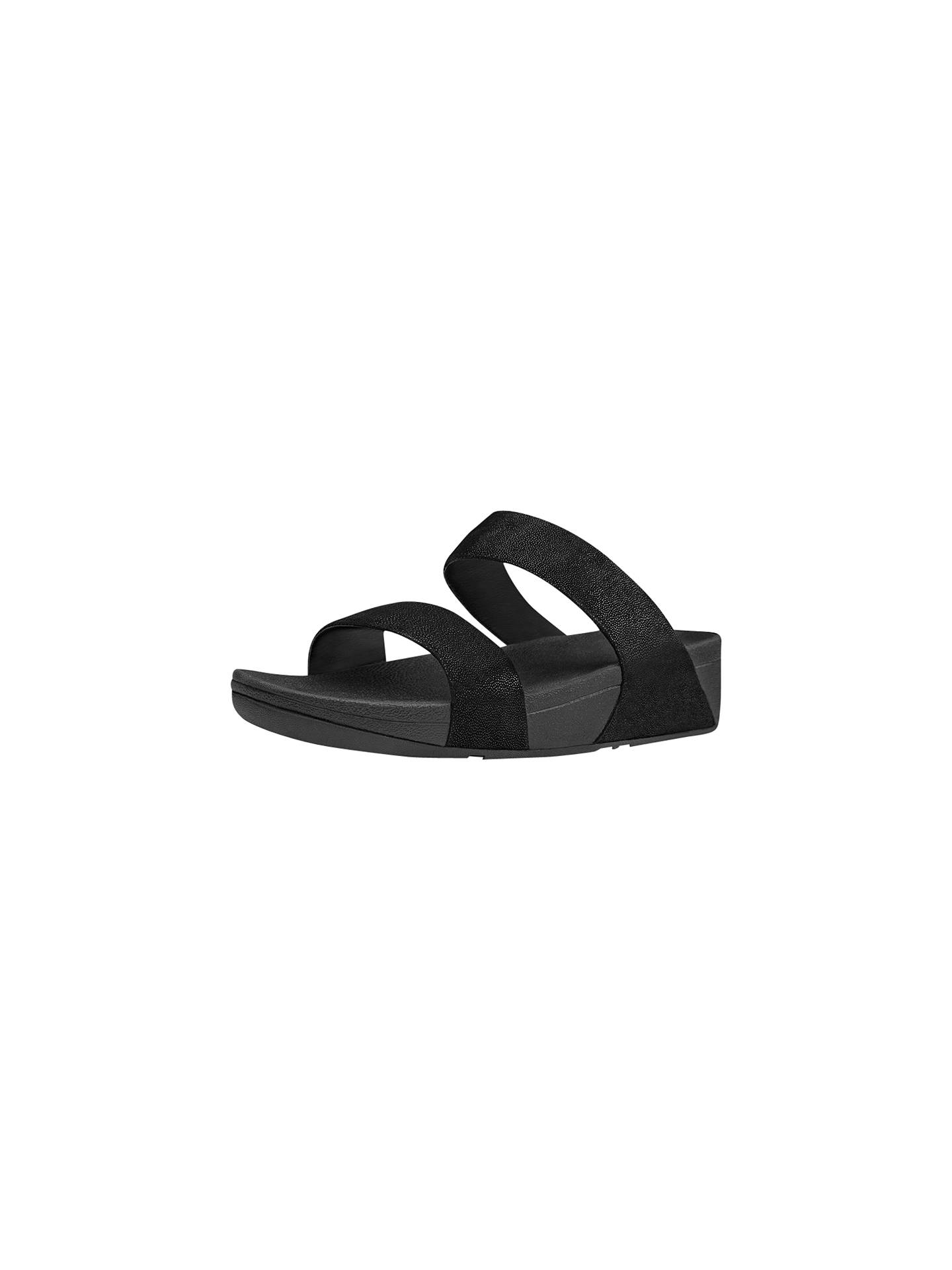 5daf3f02b3565 FitFlop Shimmy Suede Slide Sandals at John Lewis   Partners