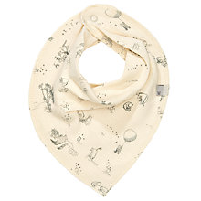 Buy Wheat Disney Organic Winnie The Pooh Baby Bib, Ivory Online at johnlewis.com