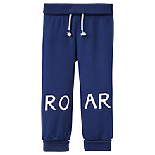 Buy Baby Joule Cubster Roar Glow In The Dark Drawstring Joggers, Navy Online at johnlewis.com