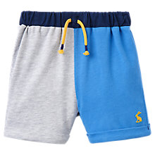 Buy Baby Joule Digby Striped Jersey Shorts, Multi Online at johnlewis.com