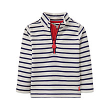 Buy Baby Joule Dale Stripe Sweatshirt, Blue/White Online at johnlewis.com