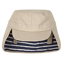 Buy John Lewis Baby Keppi Hat, Stone Online at johnlewis.com