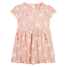Buy John Lewis Baby Bunny Dress, Pink Online at johnlewis.com
