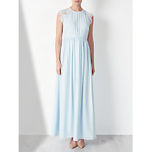 Buy John Lewis Lace Back Drape Dress Online at johnlewis.com