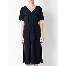 Buy Kin by John Lewis Utility Belted Dress, Navy Online at johnlewis.com