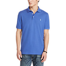 Buy Polo Ralph Lauren Slim Fit Well-Worn Mesh Polo Shirt, Liberty Online at johnlewis.com