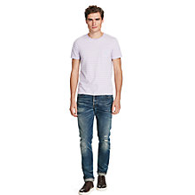 Buy Polo Ralph Lauren Custom Fit Striped Pocket T-Shirt Online at johnlewis.com