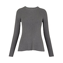 Buy Whistles Fit And Flare Ribbed Jumper Online at johnlewis.com