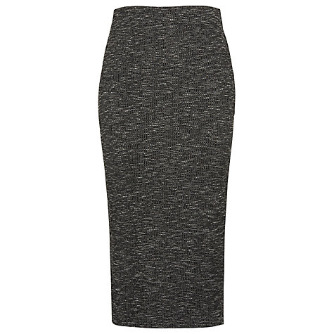 Buy Whistles Ribbed Jersey Tube Midi Skirt Online at johnlewis.com