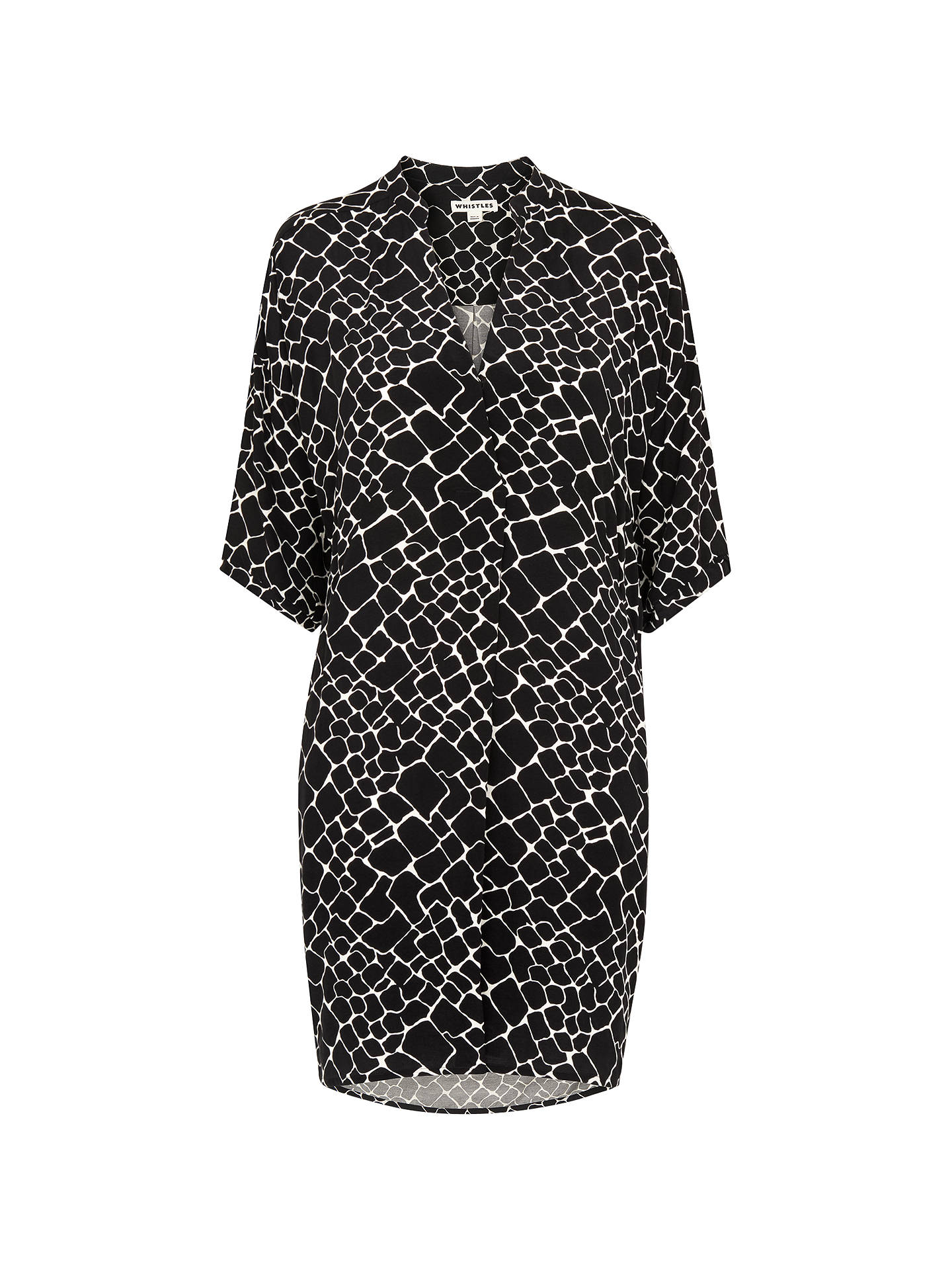 7baff9dd59 Whistles Giraffe Print Lola Dress at John Lewis   Partners