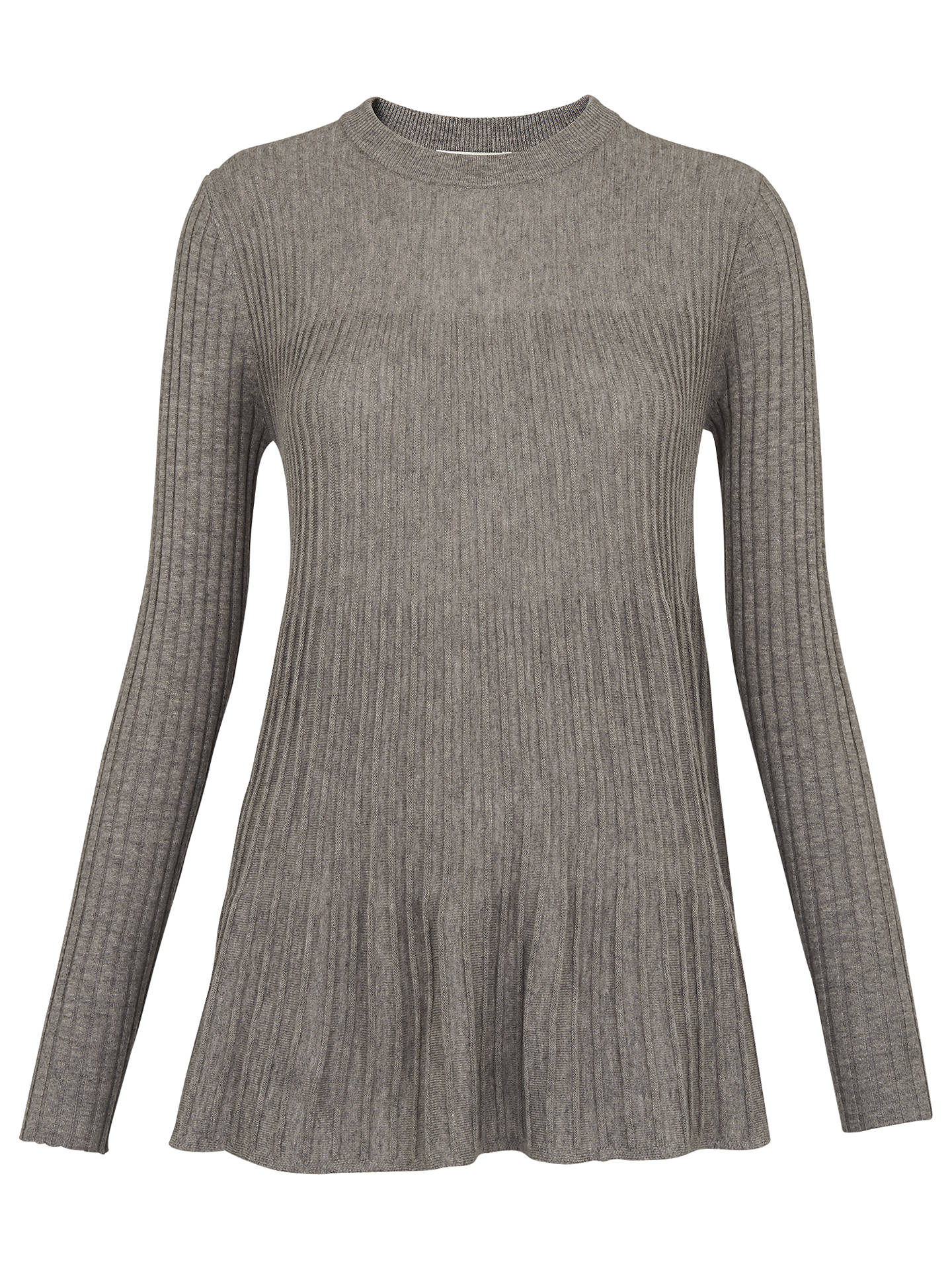 f572d8f38 Whistles Pleat Detail Trapeze Jumper at John Lewis   Partners