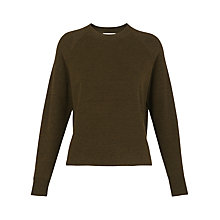Buy Whistles Relaxed Crew Neck Jumper Online at johnlewis.com