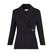 Buy Whistles Nova Tailored Jacket, Navy Online at johnlewis.com
