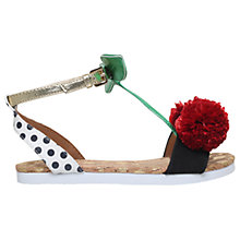 Buy Mini Miss KG Children's Very Cherry Sandals, Multi Online at johnlewis.com