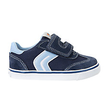Buy Geox Children's Kiwi Trainers, Blue Online at johnlewis.com