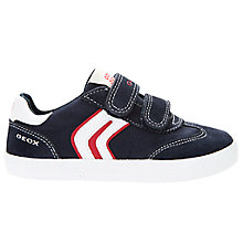 Buy Geox Children's Kiwi Double Rip-Tape Casual Shoes Online at johnlewis.com