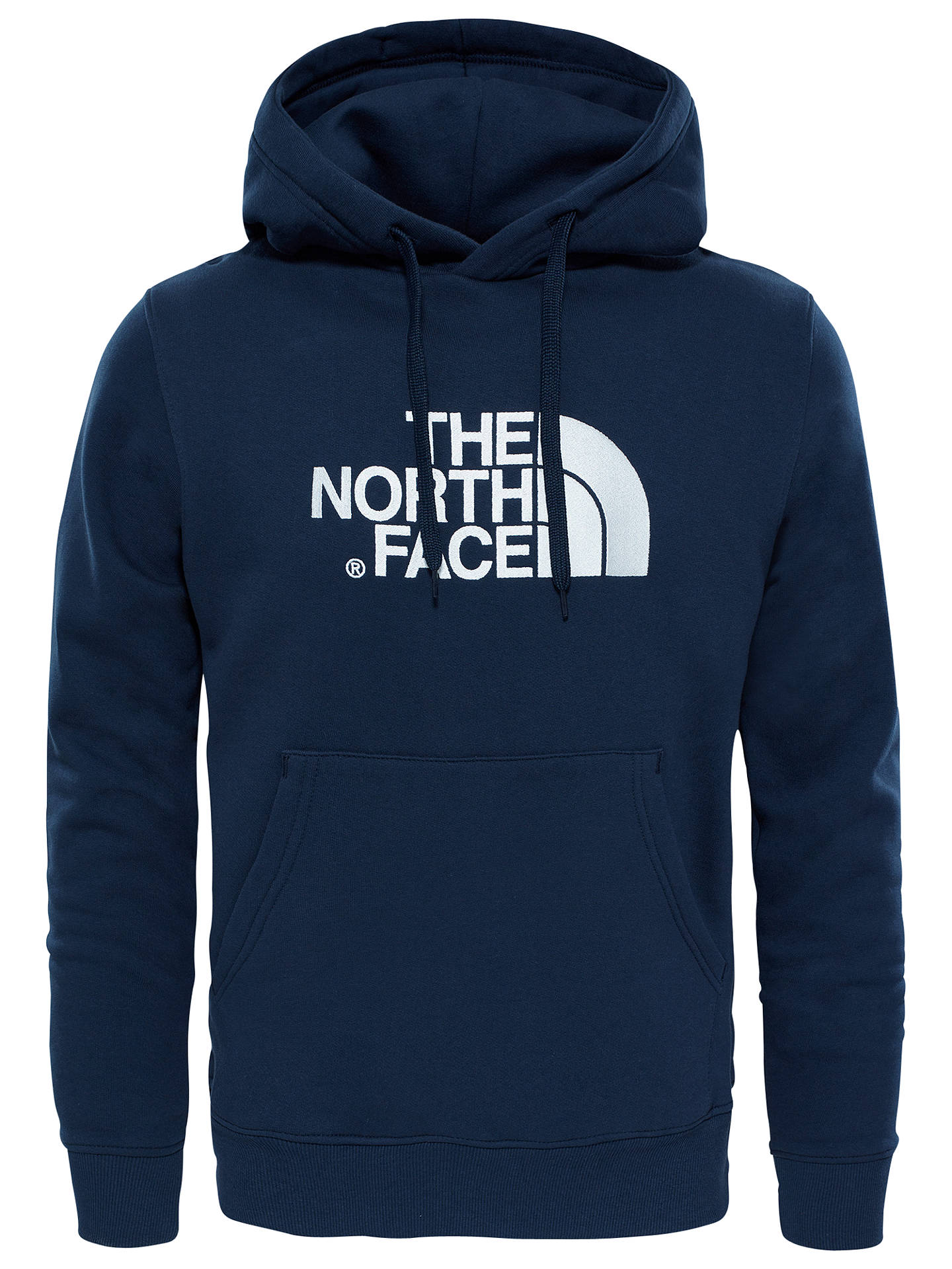 0e7413851 The North Face Drew Peak Hoodie, Navy at John Lewis & Partners