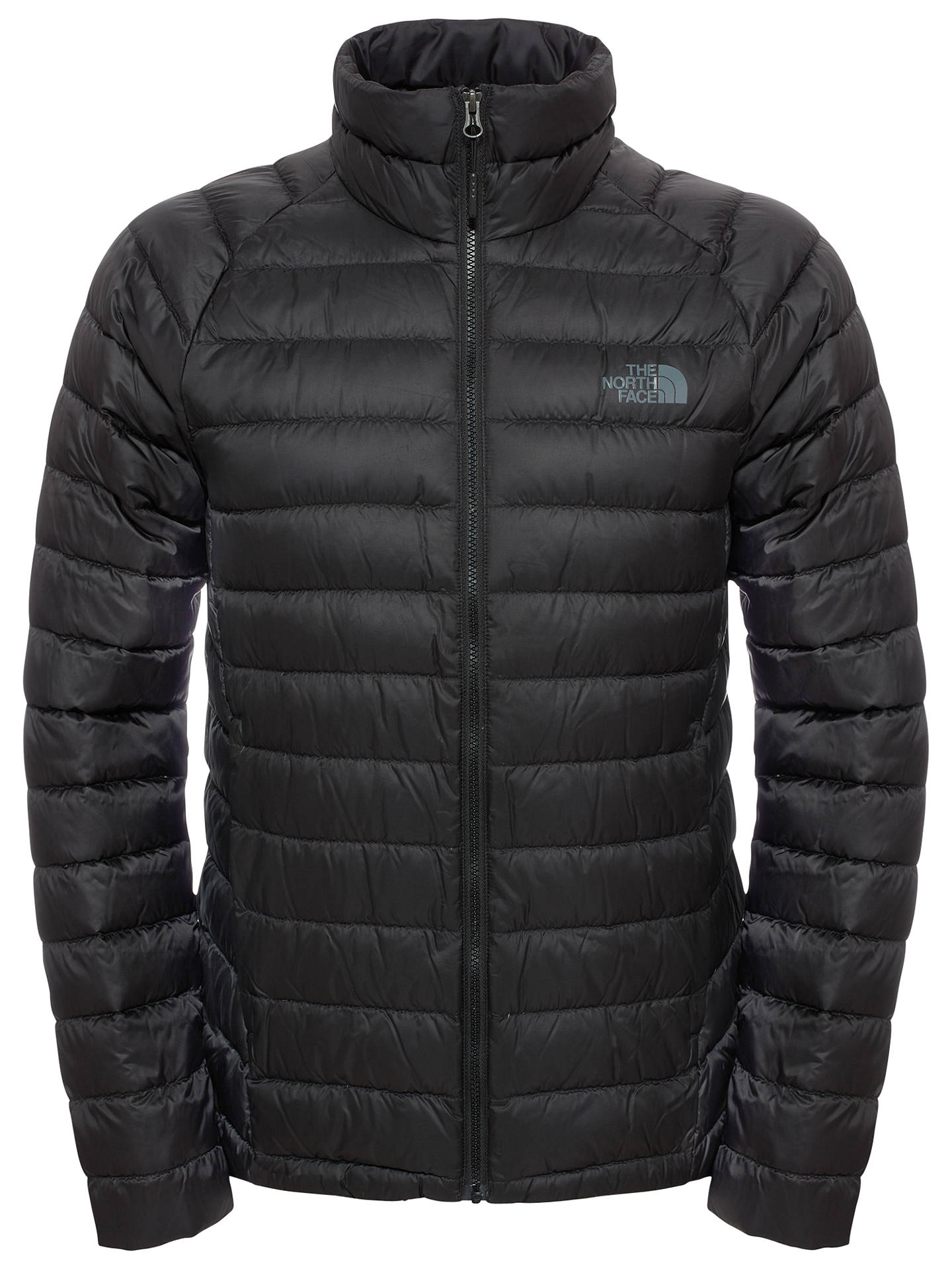 The North Face Men S Trevail Jacket Black At John Lewis Partners