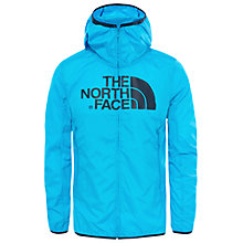 Buy The North Face Drew Peak WindWall Men's Jacket, Blue Online at johnlewis.com