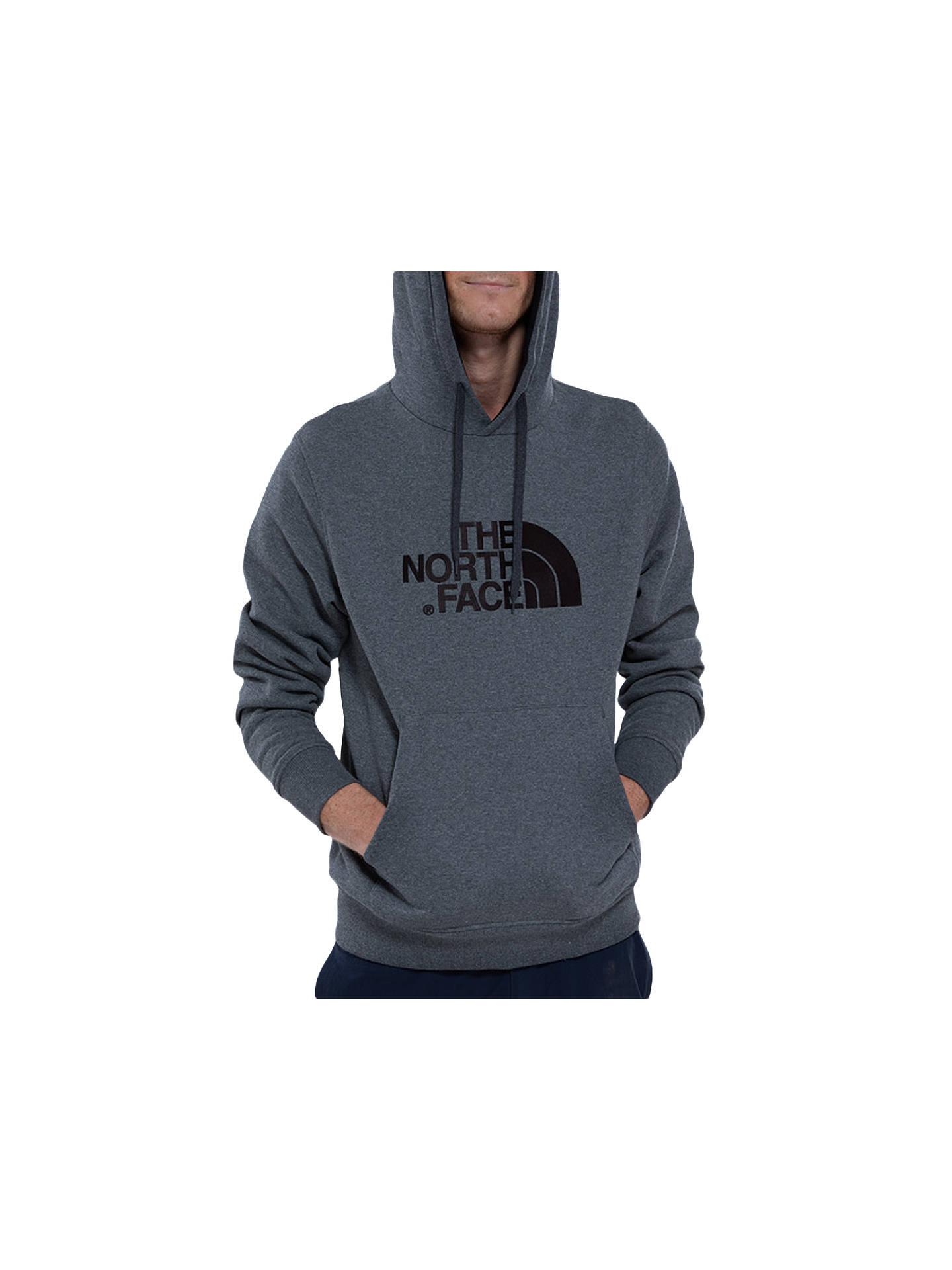 a5defc9862 Buy The North Face Drew Peak Hoodie, Grey, S Online at johnlewis.com ...