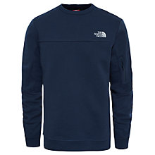 Buy The North Face Crew Pocket Sweatshirt, Navy Online at johnlewis.com