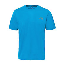 Buy The North Face Reaxion Amp Crew Neck Training T-Shirt, Blue Online at johnlewis.com