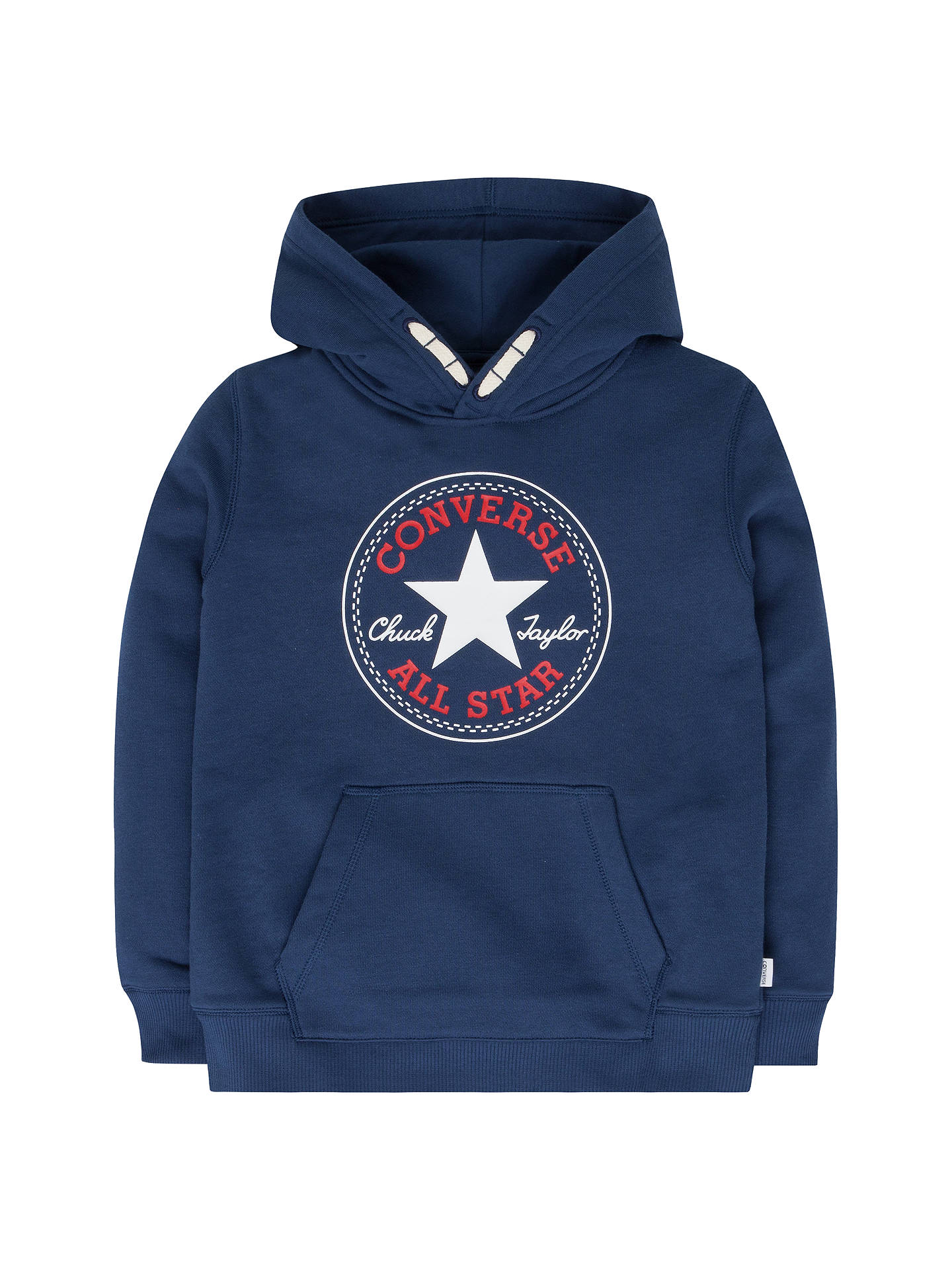 9d9c780b6 Buy Converse Boys' Core Pullover Hoodie, Navy, 3-4 years Online at