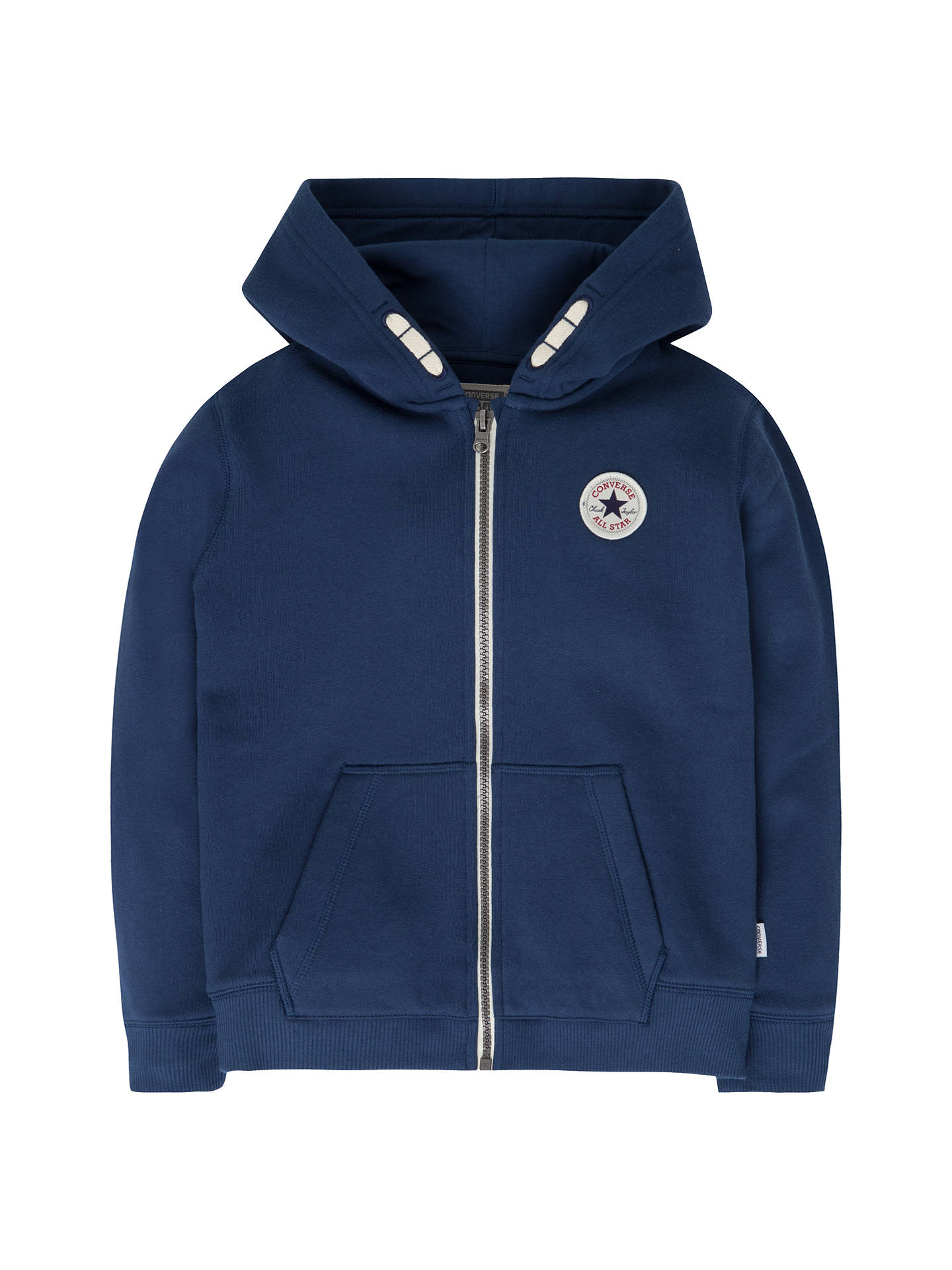 150a0d8ab7c4 Converse Children s All Star Core Zip Hoodie at John Lewis   Partners