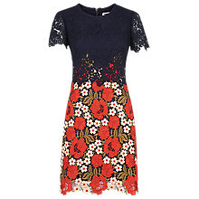 Buy Whistles Olivia Lace Dress, Multi Online at johnlewis.com