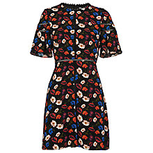 Buy Whistles Estrella Pansy Dress, Multi Online at johnlewis.com