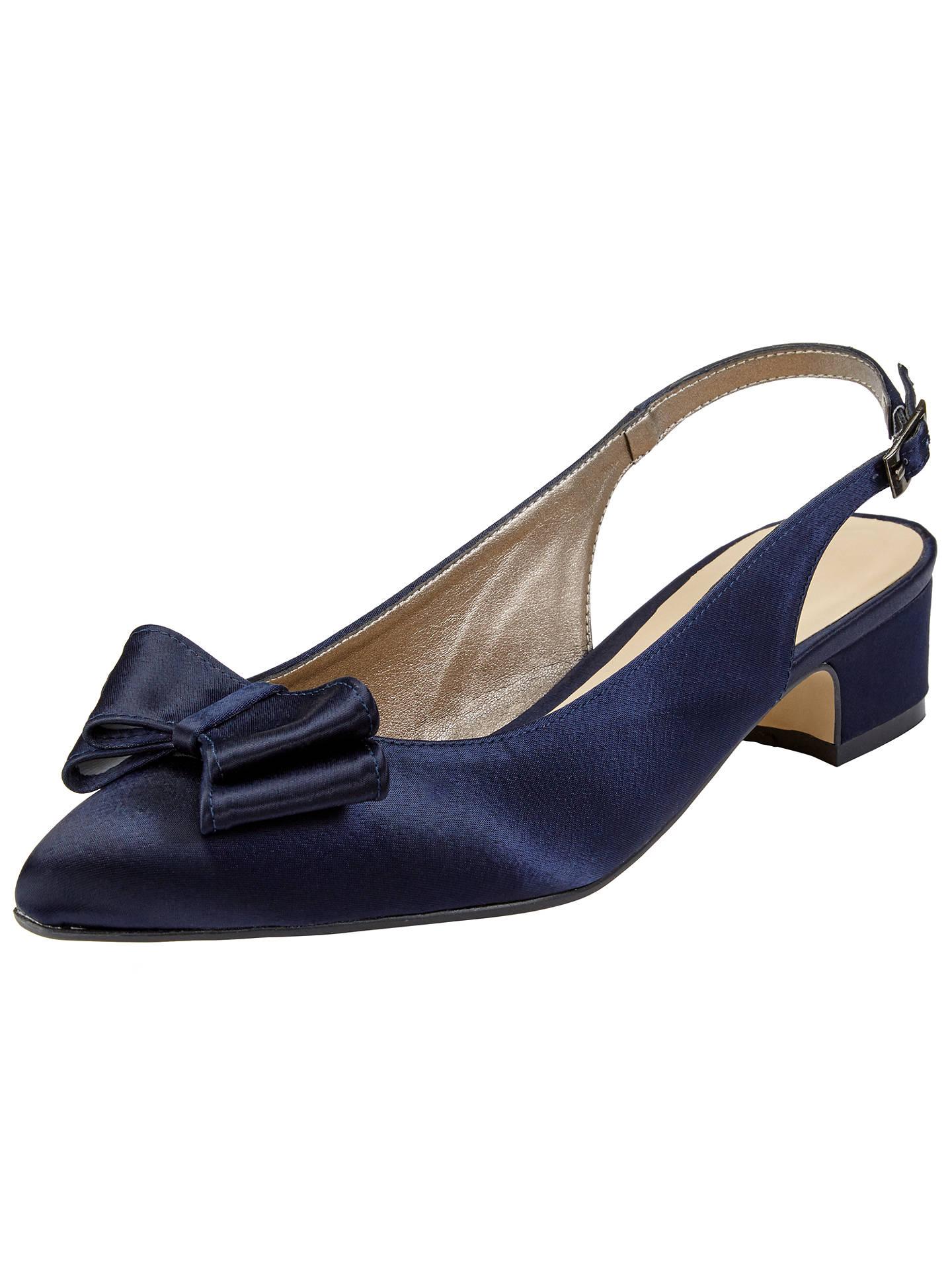 558fad29059 Buy John Lewis   Partners Brooke Bow Sling Back Court Shoes