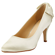 Buy John Lewis Bettie Occasion Court Shoes, Ivory Online at johnlewis.com