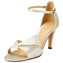 Buy John Lewis Diana Occasion Stiletto Sandals, Ivory Online at johnlewis.com