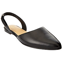 Buy John Lewis Hera Slingback Pumps, Black Online at johnlewis.com