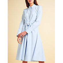 Buy Modern Rarity palmer//harding Striped Tie Dress, Blue/White Online at johnlewis.com