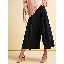 Buy Modern Rarity Silk Culottes, Navy Online at johnlewis.com
