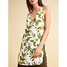 Buy Modern Rarity Archive Lily Print Side Split Cami, Multi Online at johnlewis.com